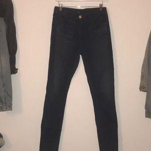 3x1 Skinny Leg High Waisted Jeans